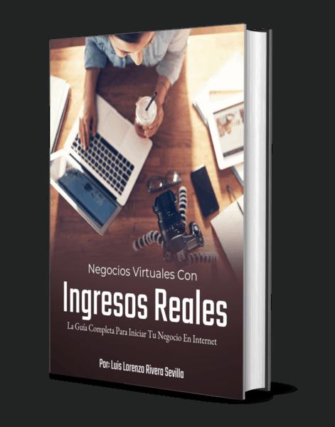 Ebook Negocios Virtuales Ingresos Reales
