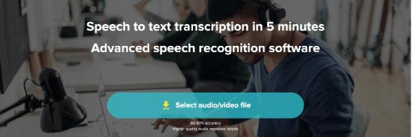 Servicios De Transcripción De Audio a Texto